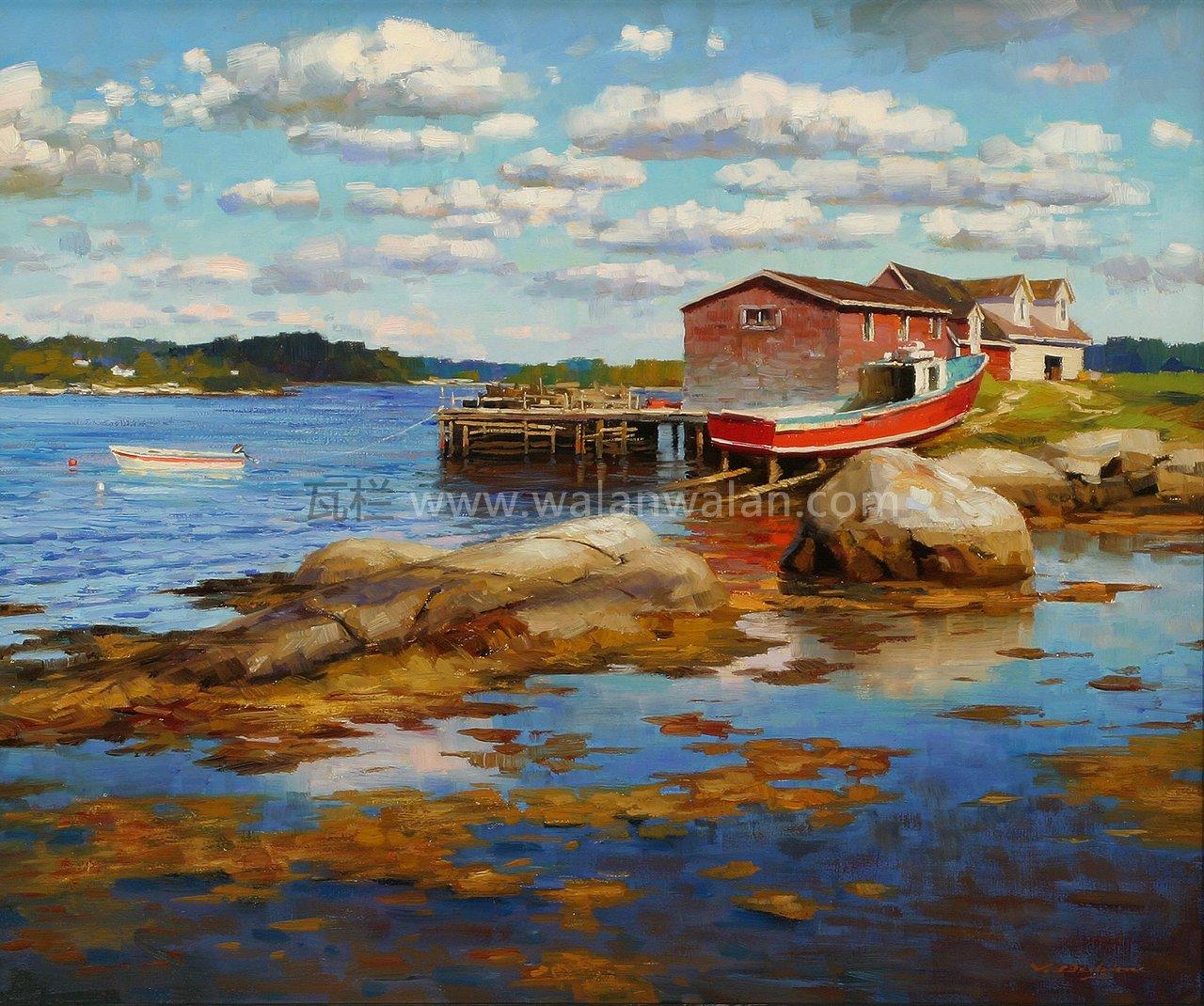 风景油画-世界名画